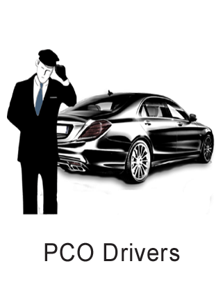 Taxi pco drivers